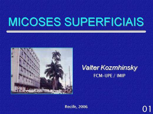 Curso Online de MICOSES SUPERFICIAIS