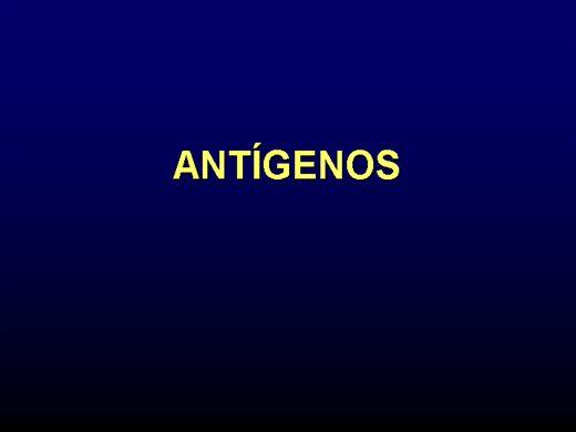 Curso Online de ANTIGENOS