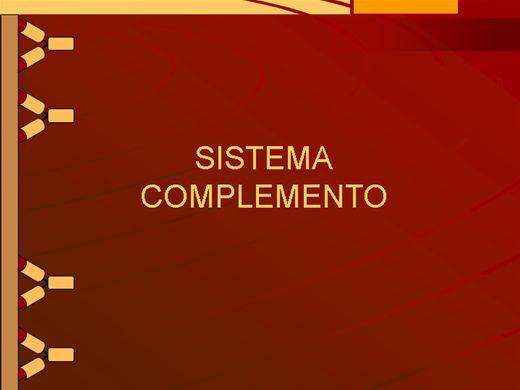 Curso Online de SISTEMA COMPLEMENTO