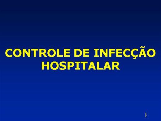 Curso Online de CONTROLE DE INFECÇÃO HOSPITALAR