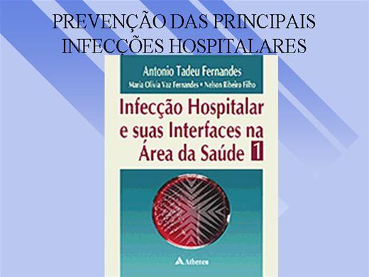 Curso Online de Prevenção das principais Infecções Hospitalares