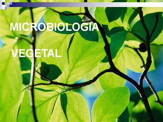 Curso Online de MICROBIOLOGIA VEGETAL