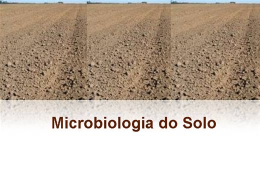Curso Online de MICROBIOLOGIA DO SOLO
