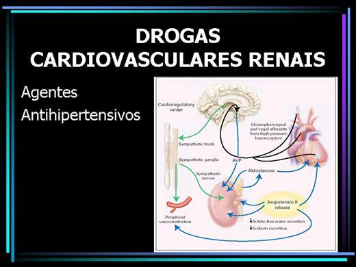 Curso Online de Drogas com ação no sistema cardiovascular e renal