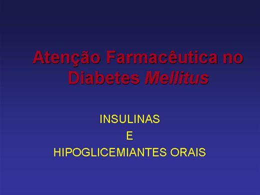 Curso Online de INSULINAS E HIPOGLICEMIANTES ORAIS