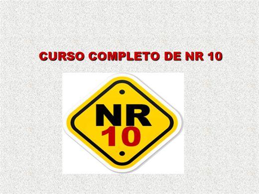 Curso Online de NR 10 SEGURANÇA EM INSTALAÇÕES ELETRICAS COMPLETO