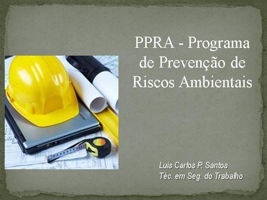 Curso Online de PPRA NR 9