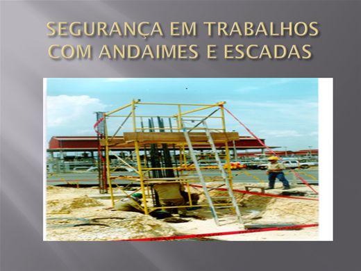 Curso Online de SEGURANÇA EM TRABALHOS COM ANDAIMES E ESCADAS