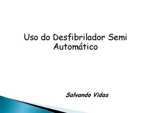 Curso Online de Desfibrilador Semi- Automático