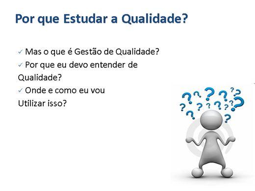 Curso Online de Assistente de Qualidade