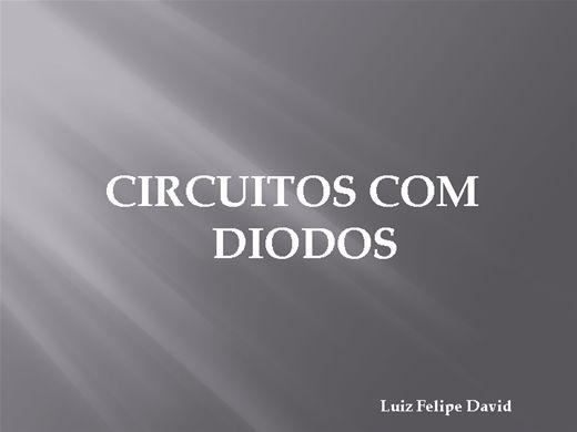 Curso Online de Eletrônica Analógica - Circuitos com diodos
