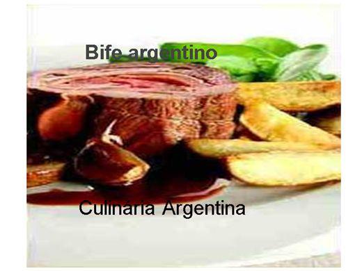 Curso Online de A Culinária Argentina e seus sabores