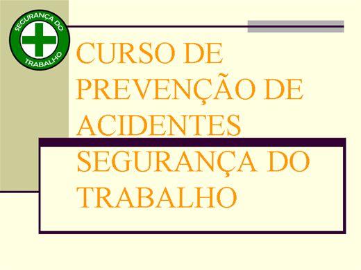 Curso Online de CURSO PARA MEMBROS DE CIPA