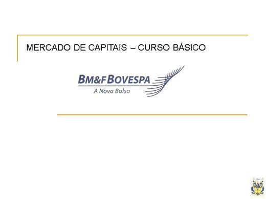 Curso Online de Mercado de Capitais - Curso básico