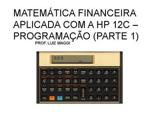 Curso Online de Como programar com a HP12C - parte 1
