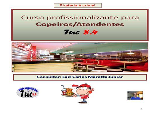 Curso Online de Curso Tuc para Copeiros
