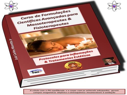 Curso Online de Formulações científicas avançadas para Fisioterapeutas, Massagistas e afins