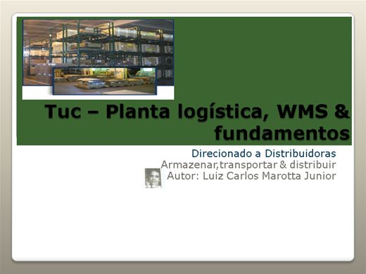 Curso Online de Tuc planta logística & management (WMS)