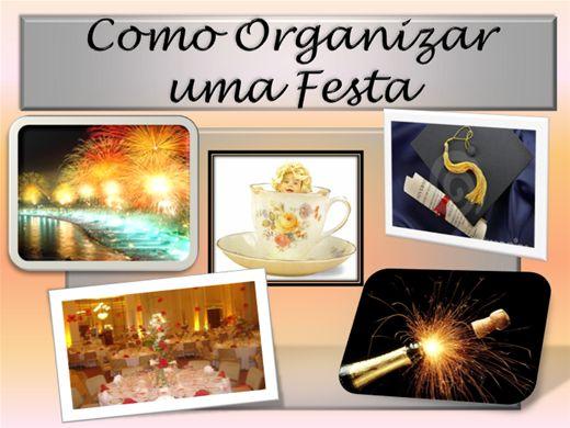 Curso Online de Como Organizar uma Festa