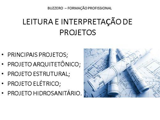 Curso Online de LEITURA E INTERPRETAÇÃO DE PROJETOS