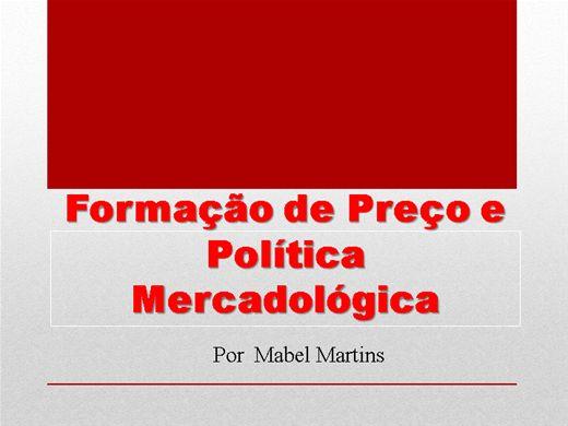 Curso Online de Formação de Preço e Política Mercadológica para iniciantes
