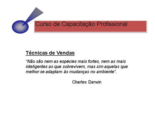 Curso Online de Técnica de vendas Diretas