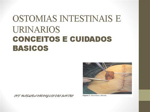 Curso Online de Estomas intestinais e urinários: Conceitos e cuidados básicos