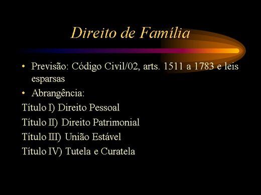 Curso Online de Direito de Família
