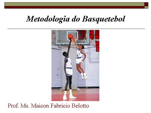 Curso Online de Metodologia do Basquetebol