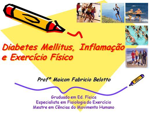 Curso Online de Diabetes Mellitus, Inflamação  e Exercício Físico