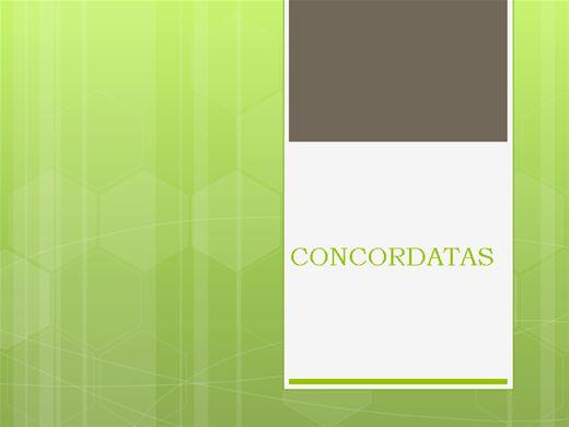 Curso Online de Concordatas