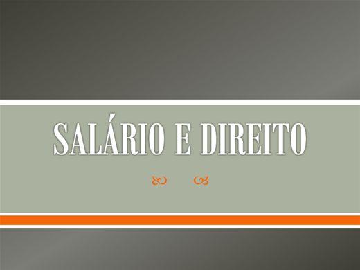 Curso Online de Salário e Direito