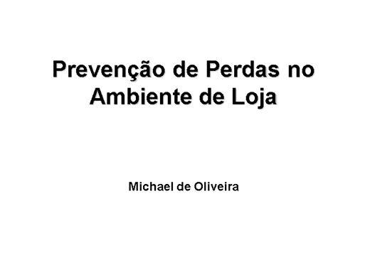 Curso Online de Prevenção de Perdas no Varejo