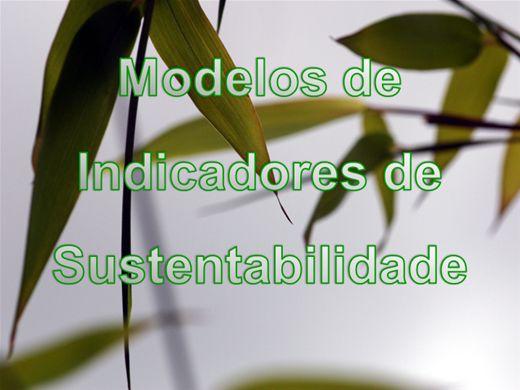Curso Online de Planejamento Ambiental - Indicadores de Sustentabilidade