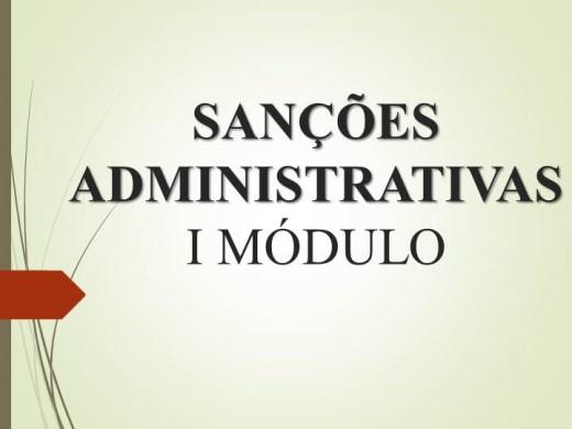 Curso Online de Sanções e penalidades x Contratos Públicos