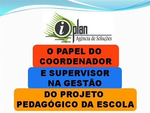 Curso Online de Gestão do Projeto Pedagógico Escolar