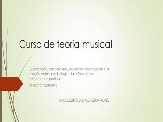 Curso Online de CURSO COMPLETO DE MUSICA