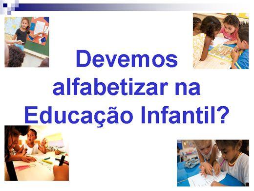 Curso Online de Alfabetização na Educação Infantil