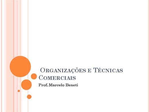 Curso Online de Organizações e Técnicas Comerciais