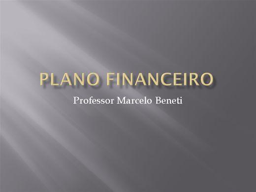Curso Online de Como elaborar o plano financeiro