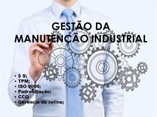 Curso Online de Gestão da Manutenção Industrial