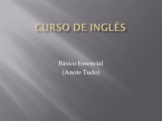 Curso Online de Curso de Inglês