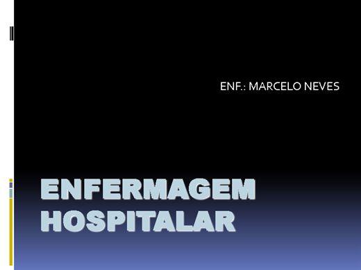 Curso Online de ENFERMAGEM HOSPITALAR
