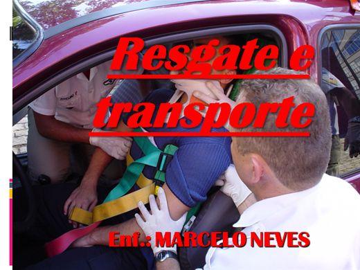 Curso Online de RESGATE E TRANSPORTE DE VÍTIMAS