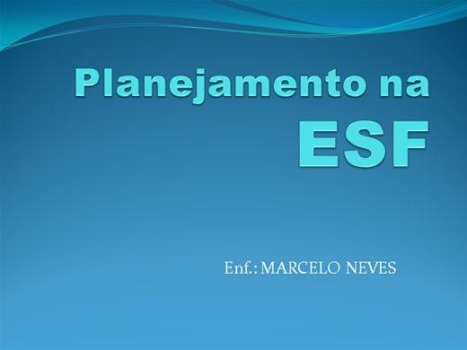Curso Online de Planejamento na ESF