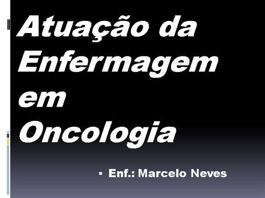 Curso Online de ONCOLOGIA- Atuação da Enfermagem em Oncologia