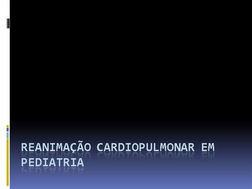Curso Online de Reanimação Cardiopulmonar em Pediatria