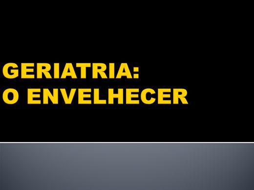 Curso Online de CURSO DE CUIDADORES DE IDOSOS: O ENVELHECER ASPECTO FISIOLOGICO