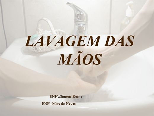 Curso Online de LAVAGEM DAS MÃOS