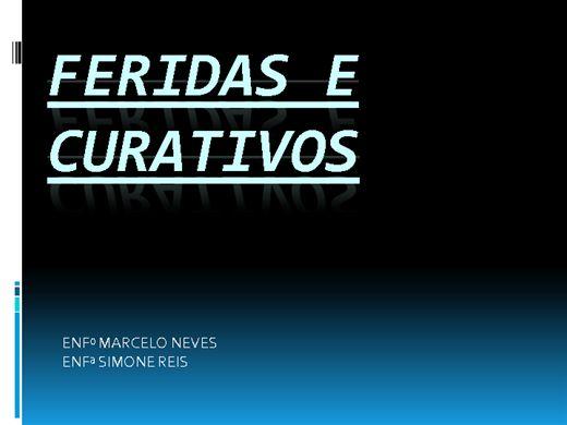 Curso Online de FERIDAS E CURATIVOS